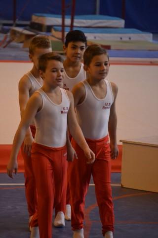 Compétition départementale Trophée fédéral par équipes 10-13 ans GAM à Halluin